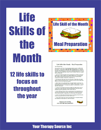 Free Independent Living Skills Worksheets Life Skills Special Education Math Reading A Recipe Measuring