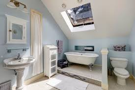 bathrooms with skylights designs