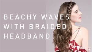 headband waves hair tutorials by jason collier using the eh hs99 beachy waves