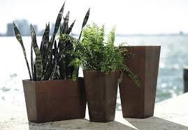 tall outdoor planters and how to benefit from them interior