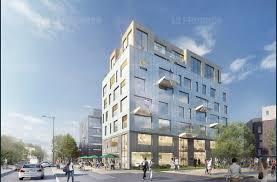 bureau d ude urbanisme lyon urbanisme à la pointe de mermoz le flyer sera un bâtiment