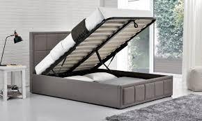 Birlea Ottoman Birlea Hannover Fabric Ottoman Bed Grey From The Bed Station