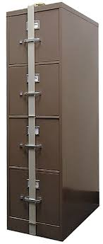 file cabinet lock bar security locking bars home