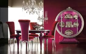 modern formal dining room sets modern formal dining room set in violet ambience home interiors
