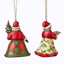 jim shore heartwood creek 4051332 mr and mrs claus set of 2
