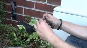 installing landscape lighting plan wire and install your trex landscape lighting youtube