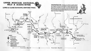 missouri breaks map missouri river journal by fred butler