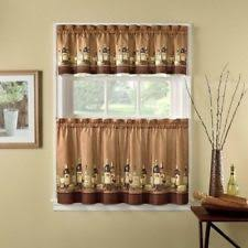 Valance And Drapes Wine Curtains Ebay