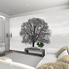 28 black and white wall mural black amp white wall murals black and white wall mural 1wall black and white tree giant wallpaper mural peter