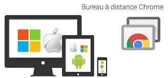 bureau à distance chrome comment contrôler un pc ou mac à distance avec un smartphone iphone