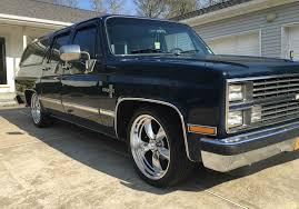 first chevy suburban chris vernam u0027s 1983 chevy suburban lmc truck life