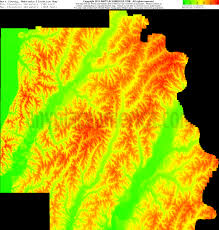 Map Of Counties In Nebraska Free Burt County Nebraska Topo Maps U0026 Elevations