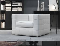 High End Leather Sofas Nella Vetrina Quad Qua00 Italian Designer White Leather Sofa Chair