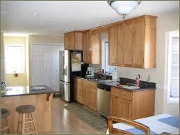 Paint Wood Kitchen Cabinets Light Wood Kitchen Cabinets With Black Countertops Kitchen Paint