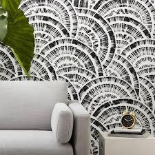 rounds black white wallpaper
