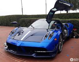 blue pagani pagani huayra bc 29 august 2017 autogespot