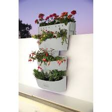 plastic saddle planter and 2 hanging wall planters buy wall planters