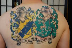 family coat of arms tattoos 50 family crest tattoos for proud