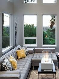 canap molletonn aménager salon avec convivialité grâce au canapé d angle