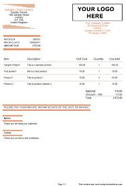 quotes and invoice template orange lines invoiceberry blog