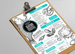 25 best restaurant u0026 bar menu template designs print idesignow