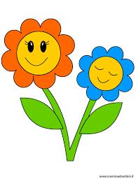 fiori disegni disegno fiori con sorriso da stare mamma e bambini