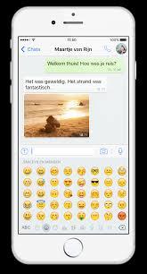 whatsapp faq emoji gebruiken