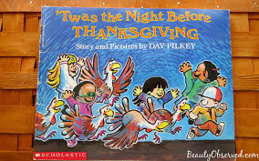 3 thanksgiving books observed