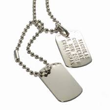 mens silver dog tags u0026 discs 10sterling