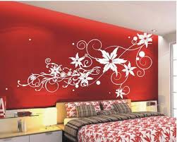 I Love This Flower Wall Stencil Would Look Great On My Already - Flower designs for bedroom walls