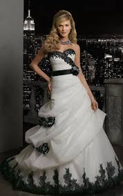 black and white wedding dress white and black bridal dresses gorgeous black wedding dresses