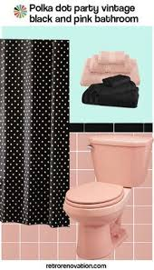 Black And Pink Bathroom Ideas How To Neutralize Pink House 1950s Bathroom And Apartments
