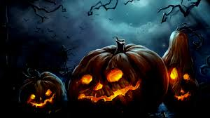 widescreen wallpapers of halloween top pics