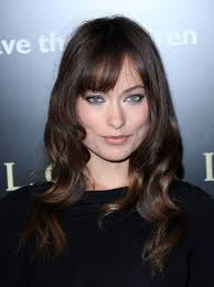 brunette hairstyles wiyh swept away bangs 16 bewitching long brown hairstyles and haircuts