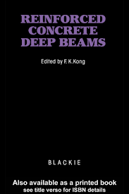 reinforced concrete deep beams prof f k kong