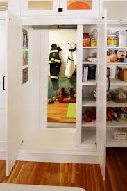 Over The Cabinet Decor by Furniture Pantry Cabinets With Copper Range Hoods And