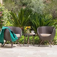 Modern Wicker Furniture by Amazon Com Gdf Studio Patio Furniture 3 Piece Outdoor Modern