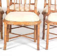 Vintage Bamboo Chairs Bamboo Style Dining Chairs Set Of 6 U2013 The Edit