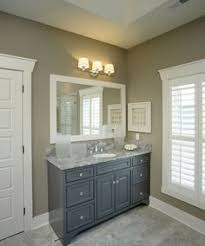 bathroom vanity color ideas gray bathroom vanity reclaimed wood accent wall country