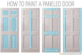 how to paint a paneled door paint how to paint home improvement