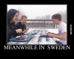 Sweden Meme - able to dine out best meanwhile in sweden memes