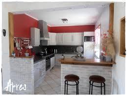 cuisine avant apr鑚 relooker meuble cuisine awesome relooking cuisine avant apres 2