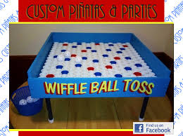 halloween party game ideas wiffle ball toss carnival style party game rental party game