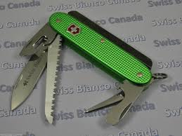 swiss bianco exclusive firesteel victorinox farmer green alox
