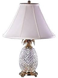 Pineapple Buffet Lamp by Waterford Crystal 25 Inch Hospitality Lamp Table Lamps Amazon Com