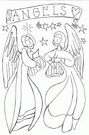 angel color pages angel wings coloring pages to print coloring home