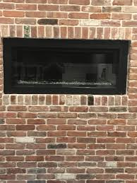 custom glass heat deflector for fireplace rockaway township all