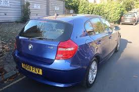 bmw electric 1 series electric blue bmw 1 series for sale condition inside out