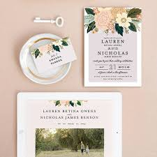 wedding supply websites minted wedding invitations and website weddings by funjet