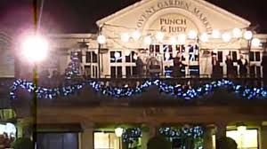 Snow Rock Covent Garden by Robbie Williams Live Christmas Song Covent Garden London 2014